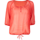 FULL TILT Sheer Chiffon Womens Top