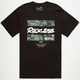 YOUNG & RECKLESS Oil Bars Mens T-Shirt