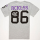 YOUNG & RECKLESS Concrete Classic Mens T-Shirt