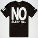 BROOKLYN PROJECTS No Sleep Mens T-Shirt