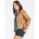 YMI Womens Faux Leather Jacket