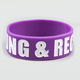 YOUNG & RECKLESS Rubber Bracelet