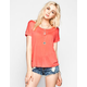 FULL TILT Womens Raglan Tunic