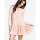 FULL TILT Tiered Babydoll Dress