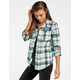 FULL TILT Joey Womens Boyfriend Flannel Shirt