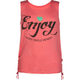 FULL TILT Enjoy Girls Tie Side Tank