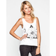 LIFE CLOTHING CO. Floral Triangle Womens Tank