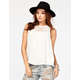 CHLOE K Victorian Lace Womens Top