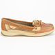 SPERRY Angelfish Metallic Slip-On Womens Boat Shoes