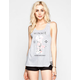 NEFF Disney Collection Floral Womens Tank