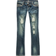 ALMOST FAMOUS Studded Pocket Womens Bootcut Jeans
