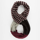 Color Block Stripe Infinity Scarf