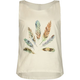 FULL TILT Pinwheel Feather Girls Tank