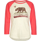 BILLABONG Let's Make A Toast Girls Baseball Tee