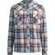 FULL TILT Girls Hooded Flannel Boyfriend Shirt