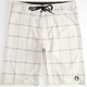 VOLCOM Plaid Mody Mens Boardshorts