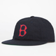 AMERICAN NEEDLE Red Sox Mens Unstructured Strapback Hat