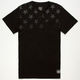 FAMOUS STARS & STRAPS Lights Out Mens Pocket Tee