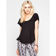 LIFE CLOTHING CO. Womens Twist Back Top