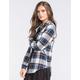 FULL TILT Womens Boyfriend Flannel Shirt