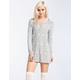FULL TILT DREAM Womens Knit Night Shirt