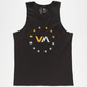 RVCA VA Sport VA Star Circle Mens Tank
