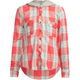 MIA CHICA Girls Hooded Boyfriend Flannel Shirt