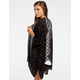 FULL TILT Tribal Border Print Womens Gauze Kimono