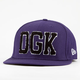 DGK Scholar Mens New Era Fitted Hat