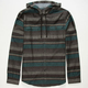 BILLABONG Latitude Mens Hooded Flannel Shirt