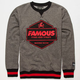 FAMOUS STARS & STRAPS Ruckus Mens Sweatshirt