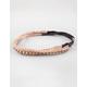 FULL TILT 3 Pack Braid/Glitter Headbands
