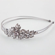 FULL TILT Rhinestone Flower Wire Headband