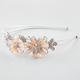 FULL TILT Glitter Floral Wire Headband