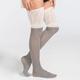 FULL TILT Two Tone Womens Over The Knee Socks