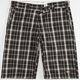 DICKIES Mongo Plaid Mens Shorts