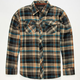 SUBCULTURE West Mens Flannel Shirt