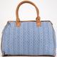 Jacquard Ethnic Print Duffle Bag