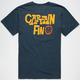 CAPTAIN FIN Kustom Mens T-Shirt