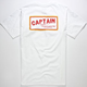 CAPTAIN FIN Old English Mens T-Shirt