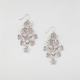 FULL TILT Cutout Daisy Shower Dangle Earrings