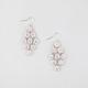FULL TILT Daisy Rhinestone Shower Dangle Earrings