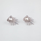 FULL TILT Rhinestone Spike Earrings