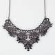 FULL TILT Lace Statement Necklace