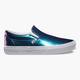 VANS Patent Leather Classic Slip-On Womens Shoes