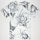 FAMOUS STARS & STRAPS Chuey Family Rose Mens T-Shirt