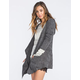 H.I.P. Womens Hooded Wrap Sweater