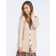FULL TILT Cable Knit Womens Cardigan