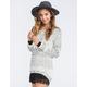 FULL TILT Stripe Step Womens Sweater