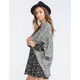 FULL TILT Womens Marled Cocoon Cardigan